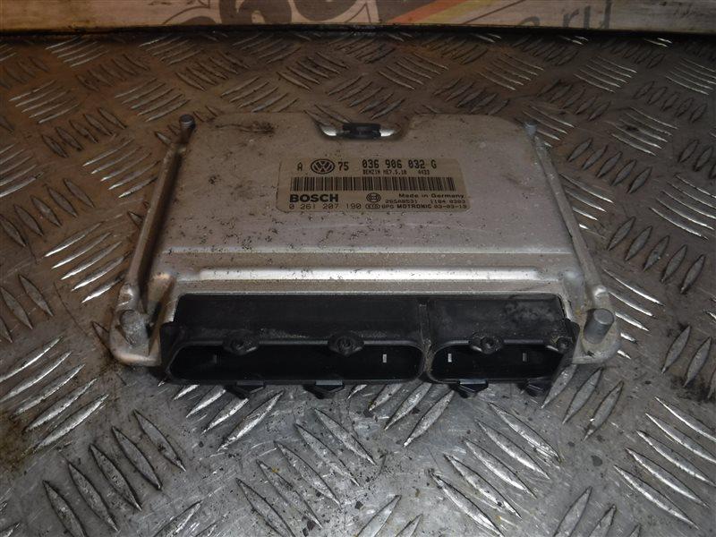 Блок управления двигателем эбу Vw Golf 4 1J1 BCA 2000