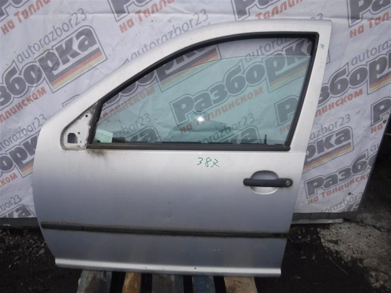 Дверь Vw Golf 4 1J1 AKQ 2000 передняя левая