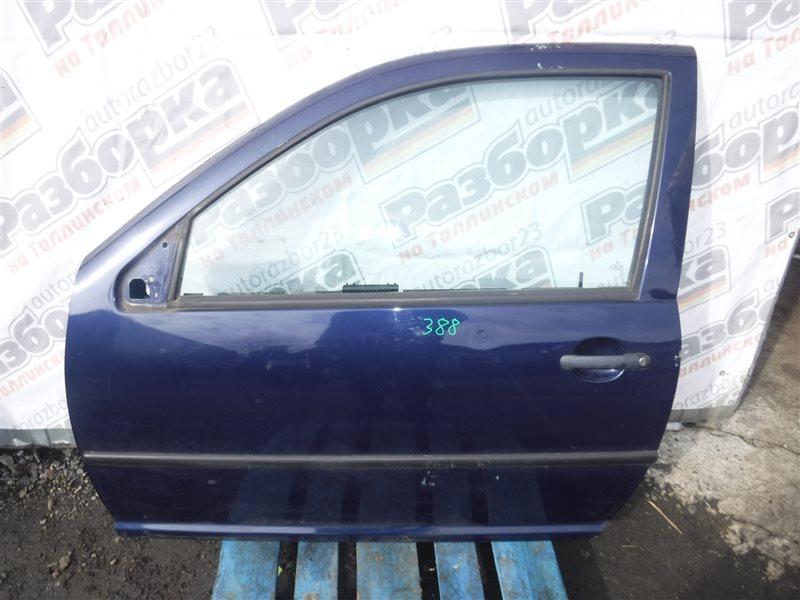 Дверь Vw Golf 4 1J1 AKQ 1999 передняя левая