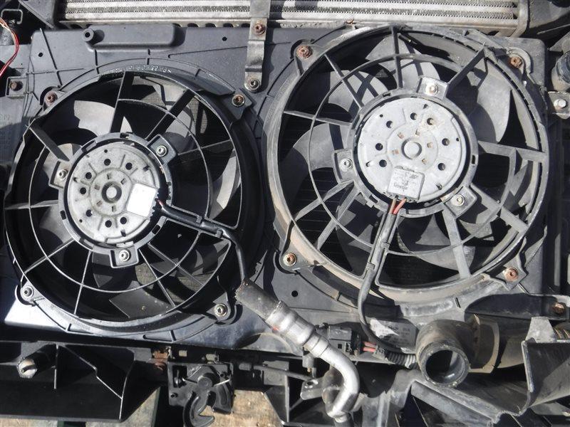 Вентилятор радиатора Vw Sharan 7M AUY 2002