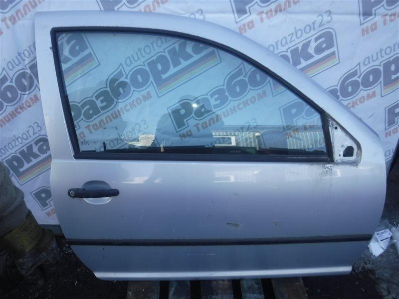 Дверь Vw Golf 4 1J1 AKL 2001 передняя правая