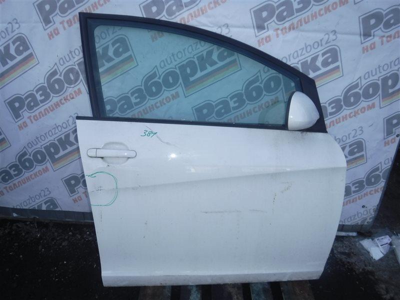 Дверь Seat Altea 5P CBZ 2010 передняя правая