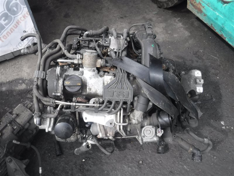 Двигатель Seat Altea 5P CBZ 2010
