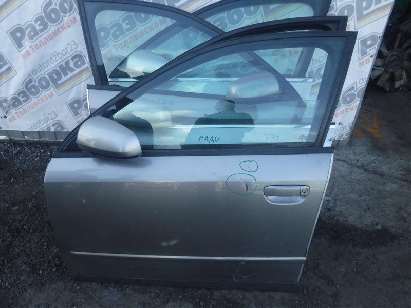 Дверь Audi A4 B6 ALZ 2004 передняя левая