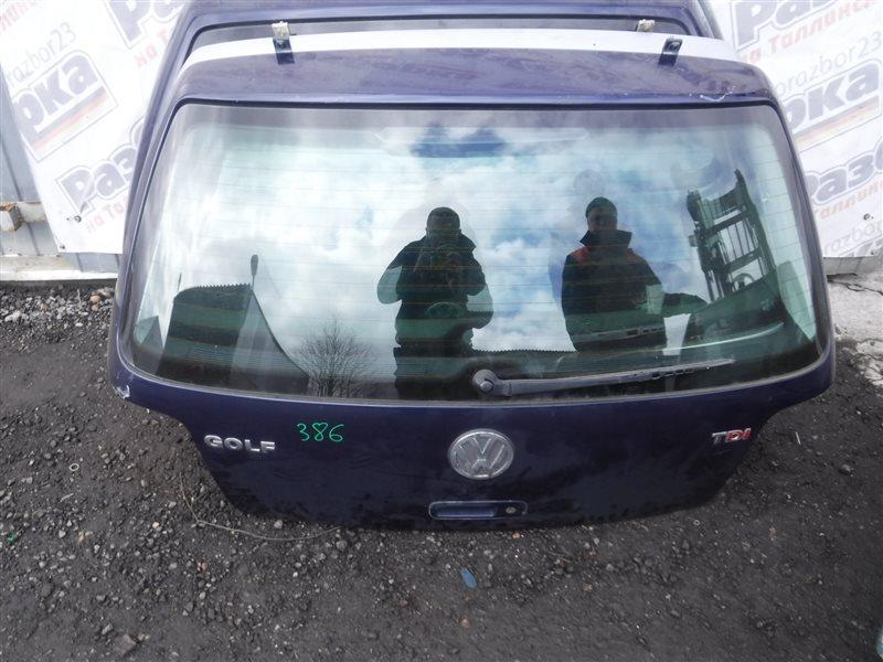 Дверь багажника Vw Golf 4 1J1 BCA 2002 задняя