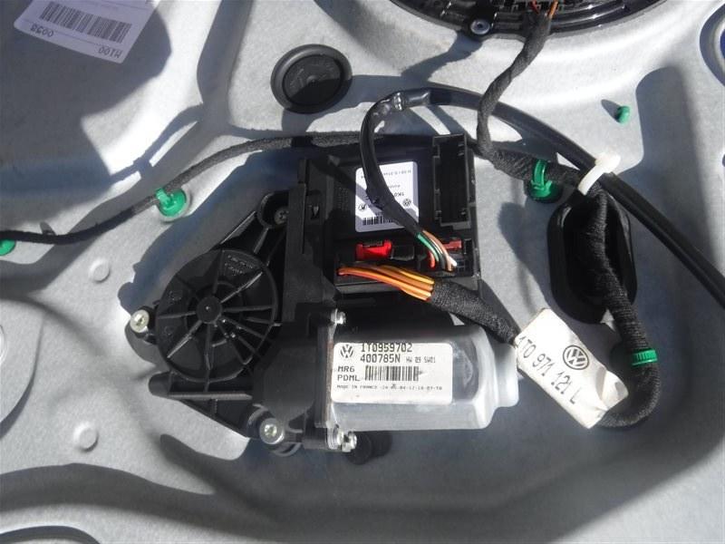 Мотор стеклоподъемника Vw Touran 1T BLP 2005 передний правый