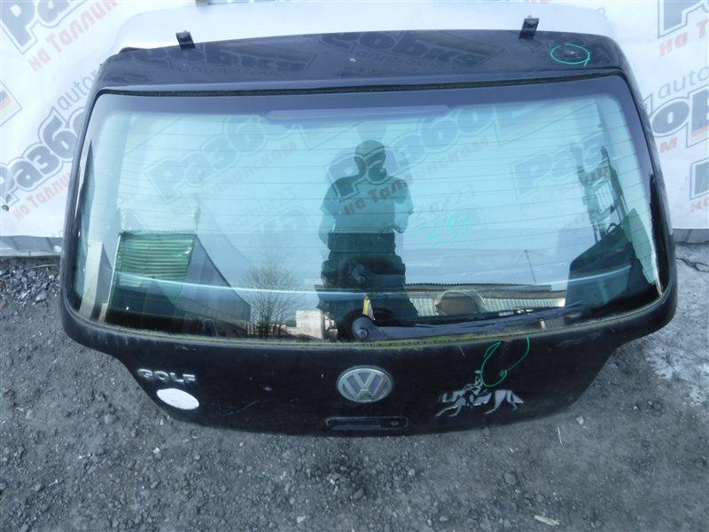 Дверь багажника Vw Golf 4 1J1 AKL 2000 задняя