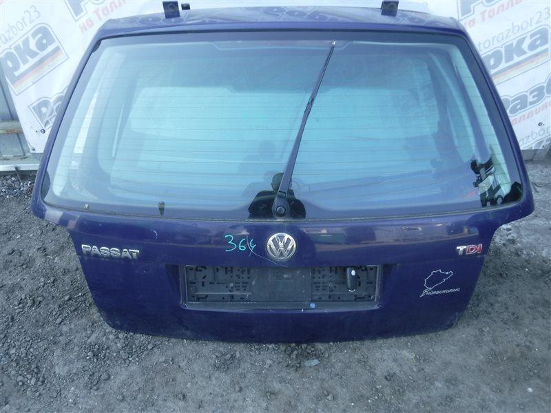 Дверь багажника Vw Passat B5 3B6 AVF 2002 задняя