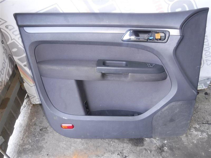 Обшивка двери (карта) Vw Touran 1T BLP 2005 передняя левая