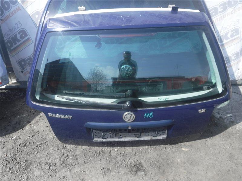 Дверь багажника Vw Passat B5 3B5 ADR 1998 задняя