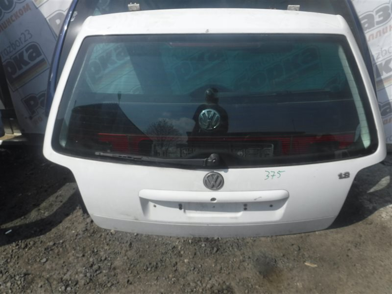 Дверь багажника Vw Passat B5 3B5 ADR 2000 задняя