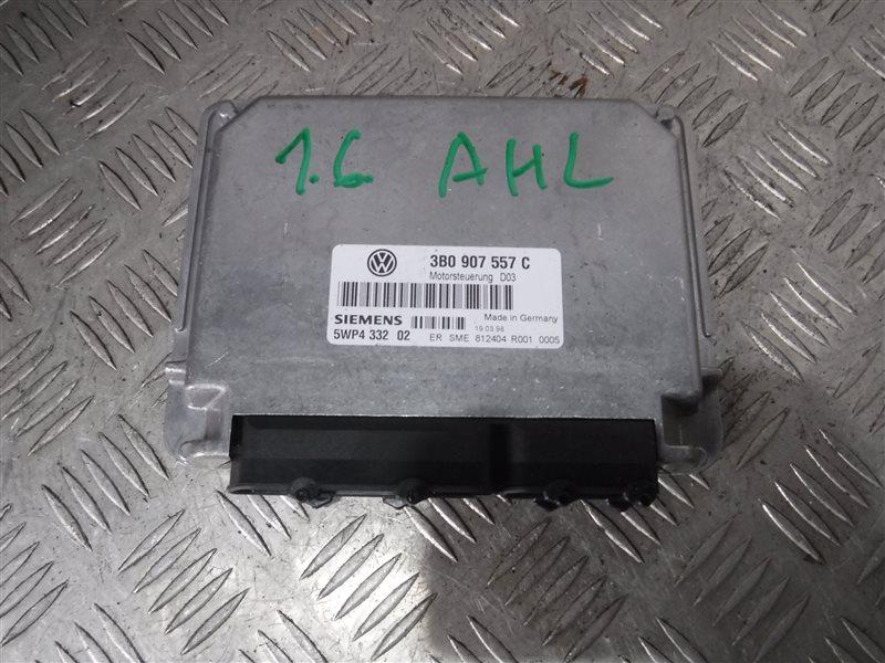 Блок управления двигателем эбу Vw Passat B5 3B2 AHL 1998