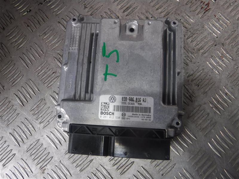 Блок управления двигателем эбу Vw Transporter T5 7HB BRR 2006