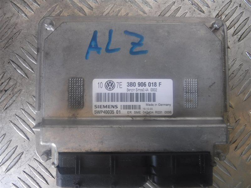 Блок управления двигателем эбу Vw Passat B5 3B6 ALZ 2002