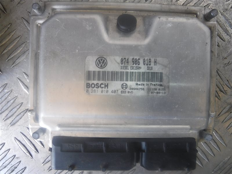 Блок управления двигателем эбу Vw Lt 2D ANJ 2003