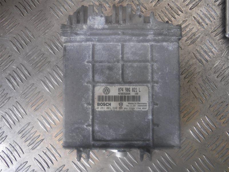 Блок управления двигателем эбу Vw Transporter T4 7DB ACV 1997
