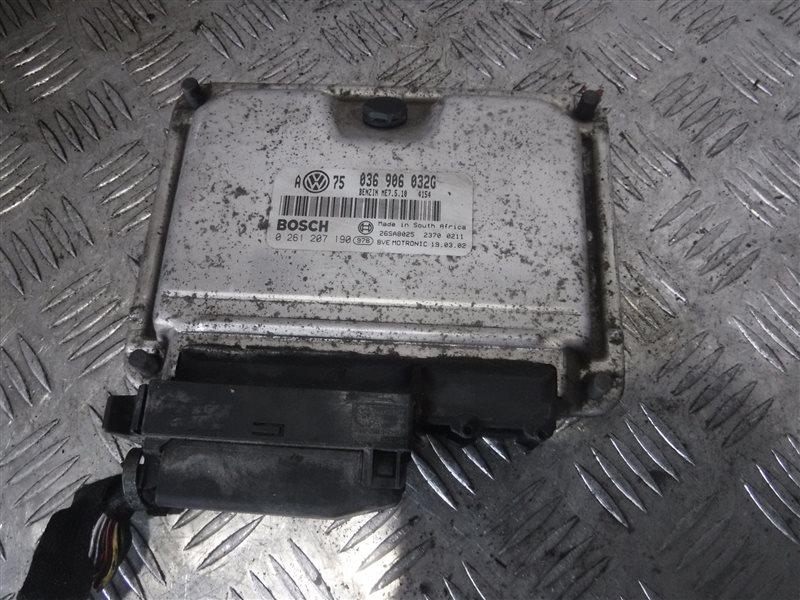 Блок управления двигателем эбу Vw Golf 4 1J1 AJQ 2000