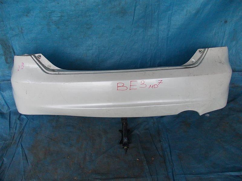 Бампер Honda Edix BE3 K20A 2004 задний