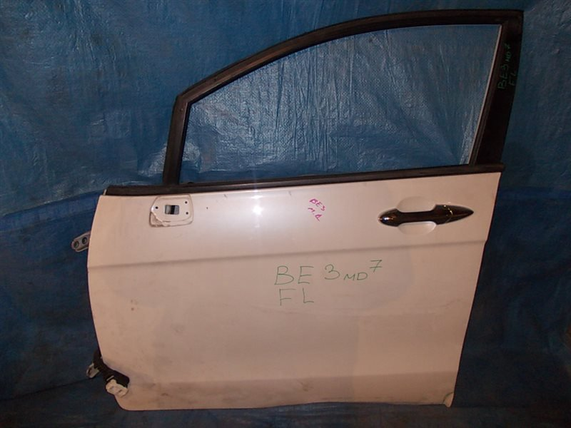 Дверь боковая Honda Edix BE3 K20A 2004 передняя левая