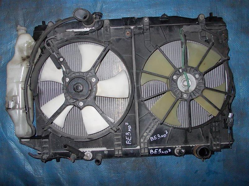Радиатор двигателя Honda Edix BE3 K20A 2004