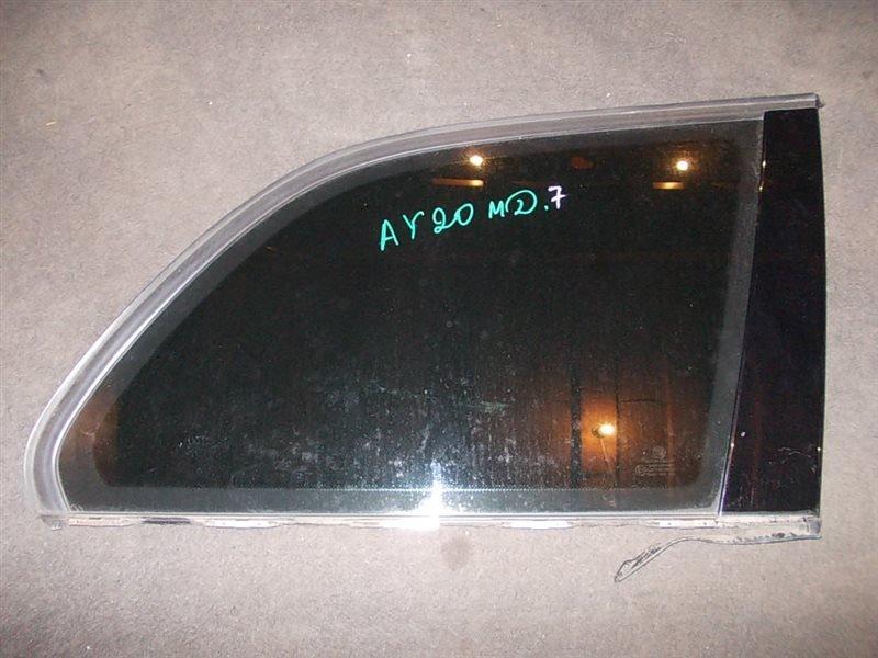 Стекло собачника Bmw 318I E46 N42B20 2003 заднее правое