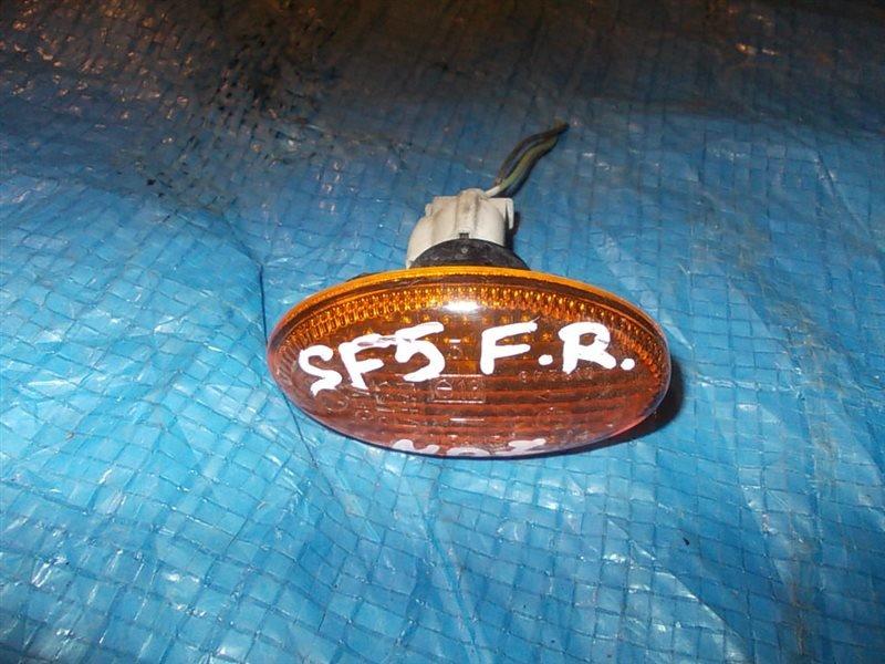 Повторитель в крыло Subaru Forester SF5 2000 передний правый