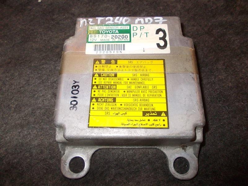 Блок управления Toyota Allion ZZT240 1NZ-FE