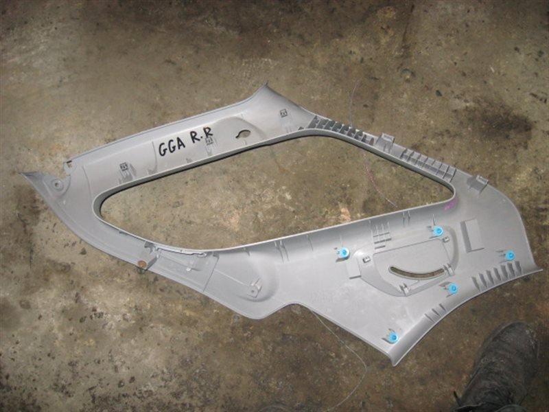 Обшивка багажника Subaru Impreza GG2 задняя правая верхняя