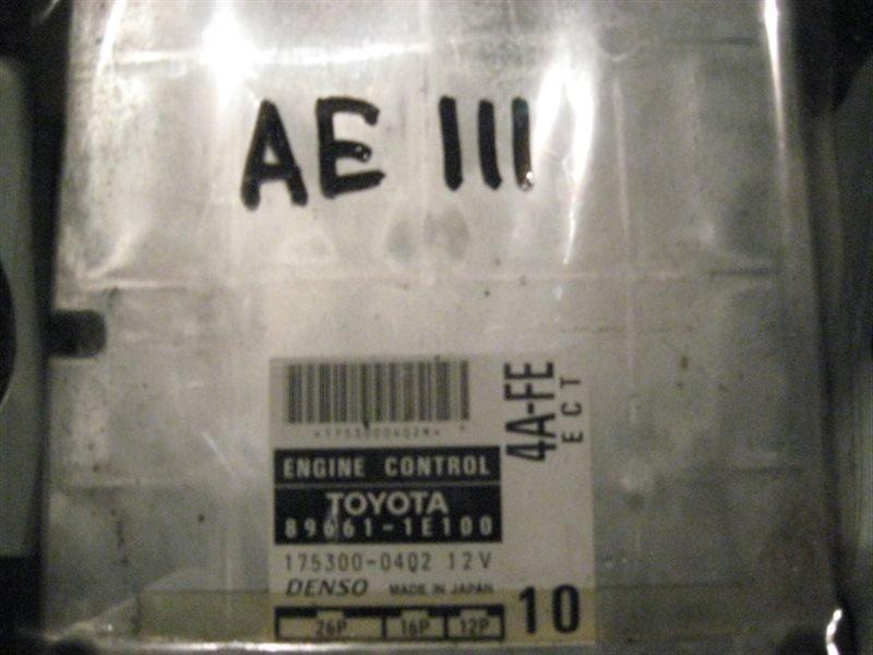 Блок управления двс Toyota Corolla Levin AE111 4A-FE