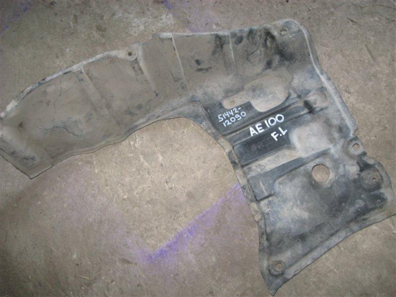 Защита двигателя Toyota Sprinter Carib AE111 1998 передняя левая