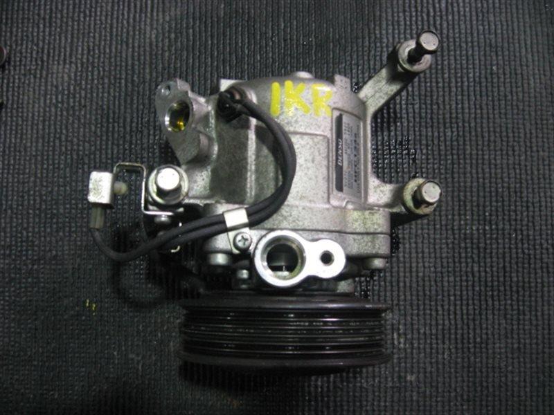 Компрессор кондиционера Toyota Passo KGC10 1KR-FE 2005