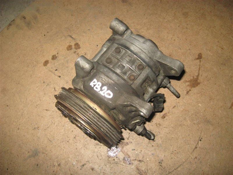 Компрессор кондиционера Nissan Skyline BNR34 RB20-DE 2001