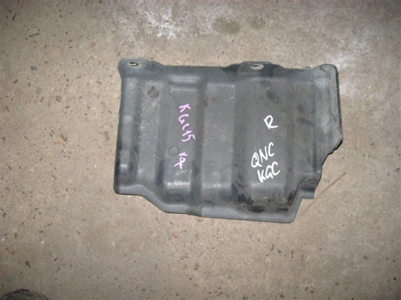Защита двигателя Toyota Passo QNC10 2005 правая