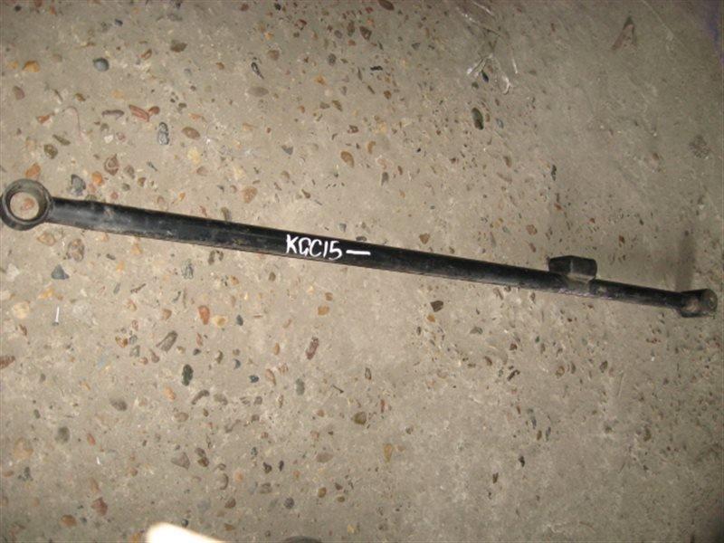 Тяга задняя Toyota Passo KGC15 2005 задняя