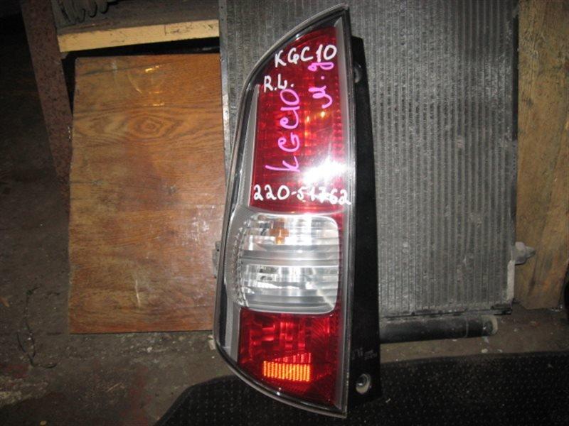 Стоп-сигнал Toyota Passo KGC10 2005 задний левый