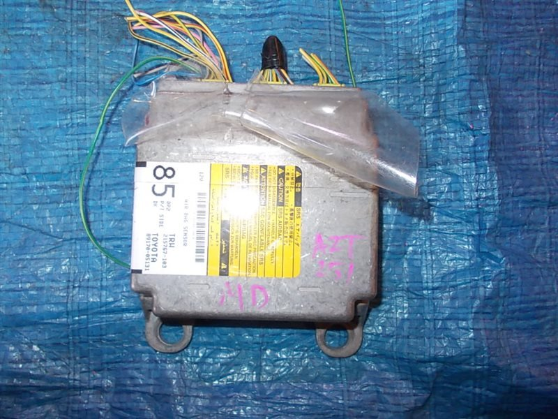 Блок управления airbag Toyota Avensis AZT251 2AZ-FSE