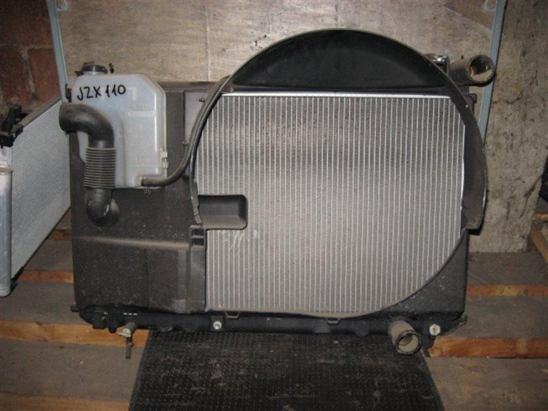 Радиатор двигателя Toyota Mark Ii JZX110 1JZ-FSE 2001