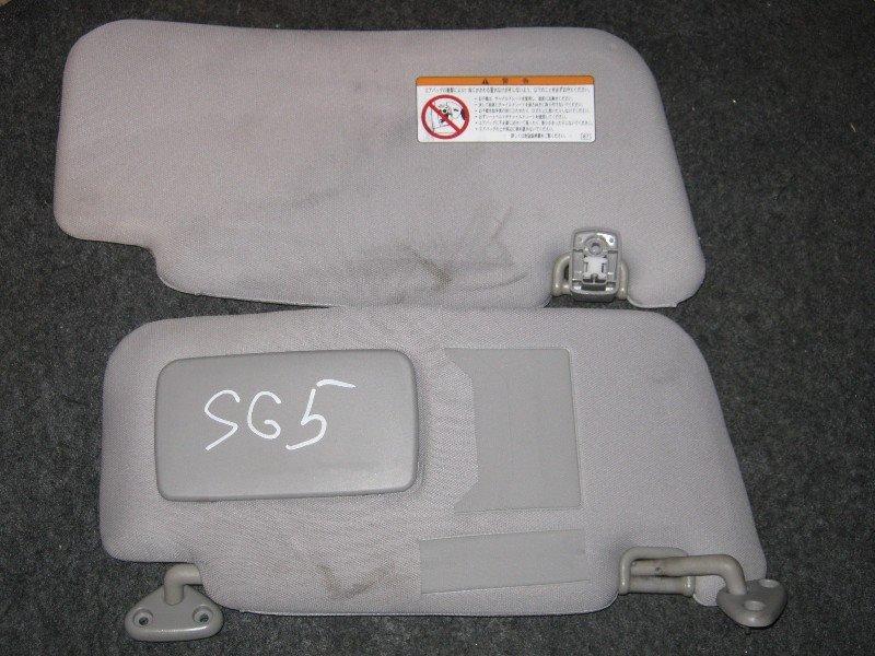 Козырек Subaru Forester SG5 2003 передний