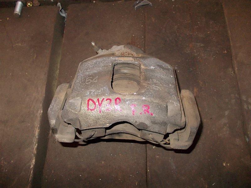 Суппорт Mazda Demio DY3R 2003 передний правый