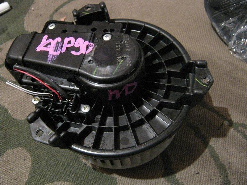 Мотор отопителя Toyota Vitz NCP95 1NZ-FE 2005