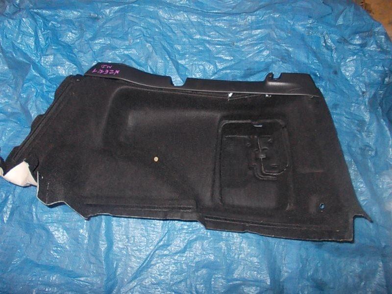 Обшивка багажника Toyota Corolla Fielder NZE121 1NZ-FE 2003 задняя правая нижняя