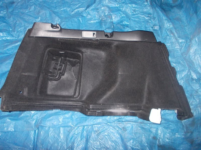 Обшивка багажника Toyota Corolla Fielder NZE121 1NZ-FE 2003 задняя левая нижняя