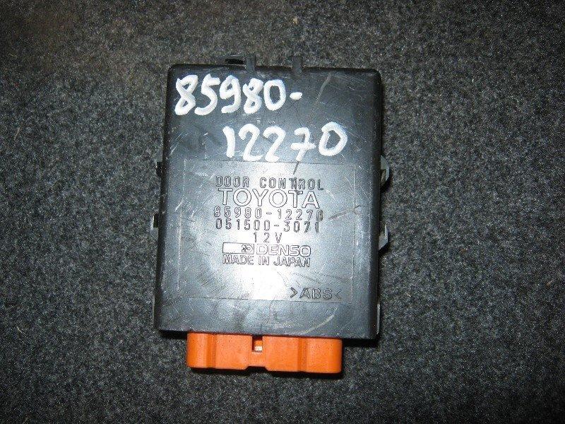 Блок управления Toyota Corolla Levin AE111 4A-FE