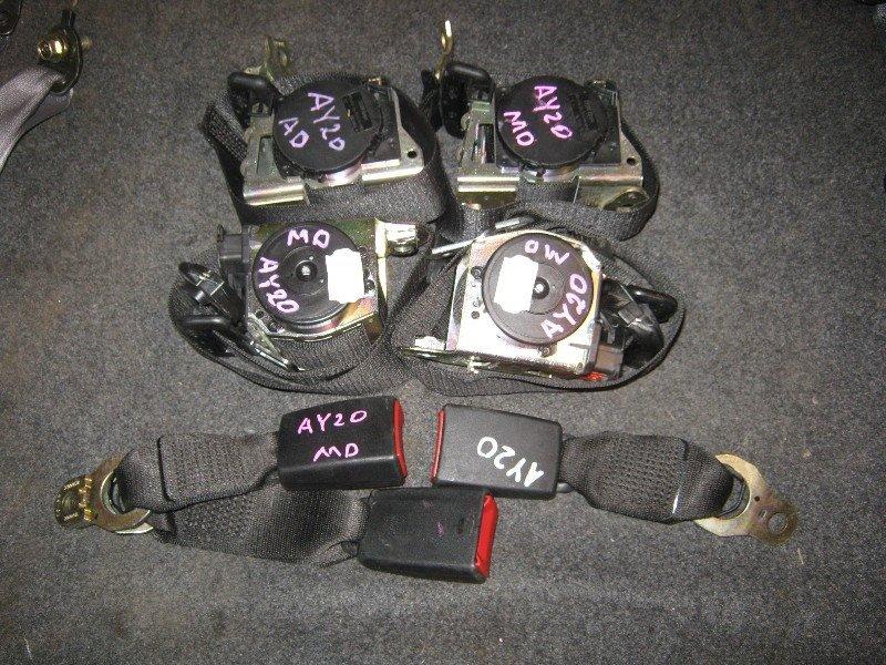Ремень безопасности Bmw 318I E46 N42B20 2003
