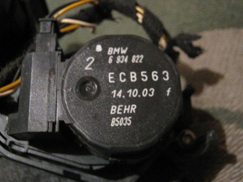 Привод заслонок отопителя Bmw 318I E46 N42B20 2003