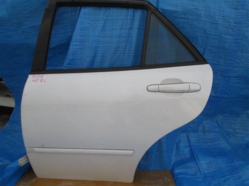 Дверь боковая Toyota Altezza Gita JCE10 2JZ-GE 2001 задняя левая