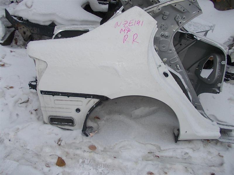 Крыло Toyota Corolla Axio NZE141 1NZ-FE 2008 заднее правое