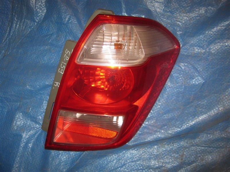 Стоп-сигнал Toyota Ractis SCP100 1SZ-FE задний правый