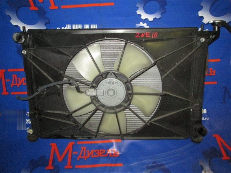 Радиатор двигателя Toyota Wish ZNE10G 1ZZ-FE 2008