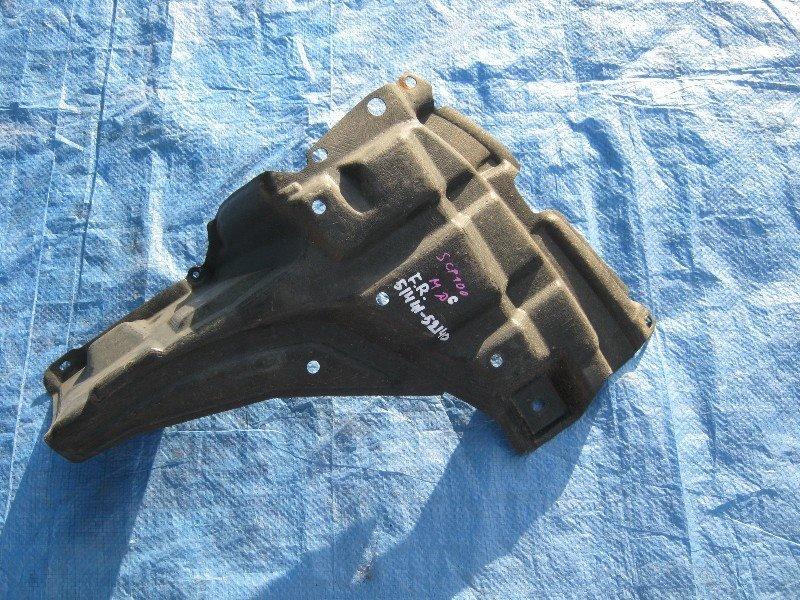 Защита двигателя Toyota Ractis SCP100 правая